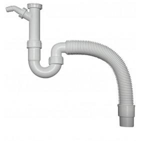 Sanitop Spülen Röhrengeruchverschluss, 11/2 Zoll x ø 40/50 mm