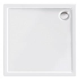 Acryl-Brausewanne Teso 80 x 80 x 25 cm weiß