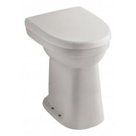 Sanitop AquaSu Stand-WC-Set Universal +10 cm Flachspüler senkrecht, weiß