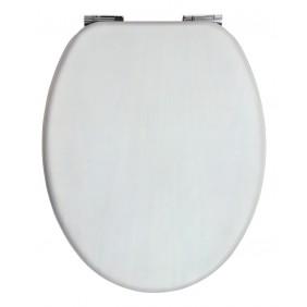 Sanitop Sitzplatz WC-Sitz Venezia weiss mit Soft-Schließ-Komfort und Fast Fix