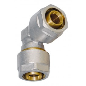 Sanitop Wiroflex WIROFLEX Winkel 16 x 16 mm Komplettlösung incl. Adapter, Schraubsystem