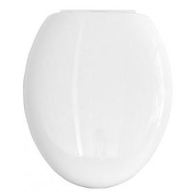 Sanitop Sitzplatz WC-Sitz Dora Weiß mit Soft-Schließ-Komfort