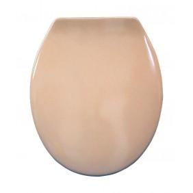 Sanitop Sitzplatz WC-Sitz Siena mit Fast Fix, karamel