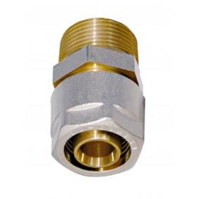 Sanitop Wiroflex WIROFLEX Klemmring-Verschraubung 16 x 3/4 AG Komplettlösung incl. Adapter, Schraubsystem