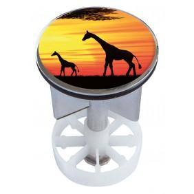 Sanitop Excenterstopfen Metall 38 - 40 mm Design Kenyan Sunset