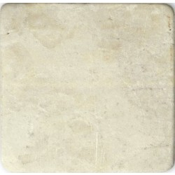 Antik Marmor 1 cm Botticino 10x10x1 cm getrommelt