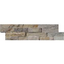 Naturstein Mauerverblender Quarzit Beige