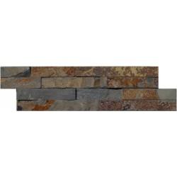 Naturstein Mauerverblender Mini Schiefer Mulitcolor Slate