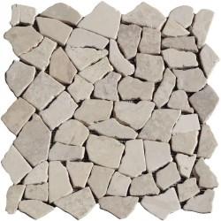 Naturstein Bruchmosaik 8 mm Beige
