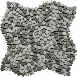 Naturstein Mosaik  8 mm Bruchmosaik Mini Concrete