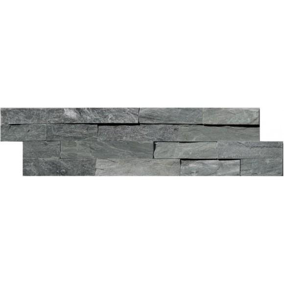 Naturstein Mauerverblender Quarzit Grey