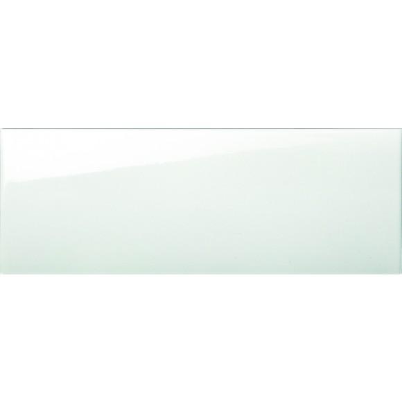 Wandfliese weiß glanz 30x90 cm Rettifiziert