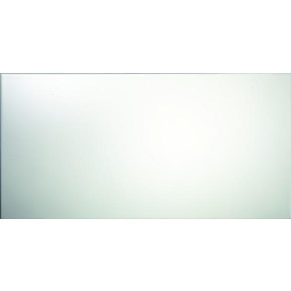 Wandfliese weiß matt 30x60 cm Naturkante