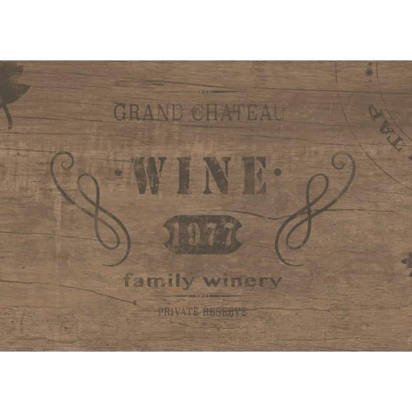 "Osmose Dekorfliese ""Wine"" Nemus Walnuss 30x60 cm"