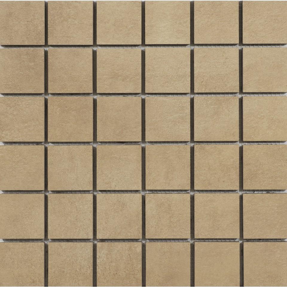 Osmose Mosaik 5x5 Oxido Latón 30x30 Cm