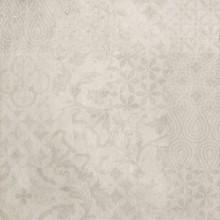 Dekorfliese Betonoptik Weiß 60x60 cm