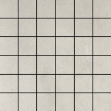 Mosaik 5x5 Betonoptik Weiß 30x30 cm