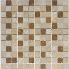 Naturstein Mosaik 8 mm Beige  23