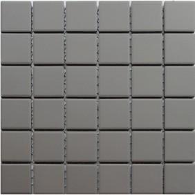 Feinsteinzeug Mosaik 5 mm Grey 48 Antislip
