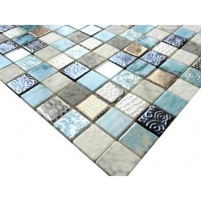 Materialmix Mosaik 4 mm Blue Hawaii