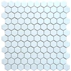 Keramik Mosaik 4 mm Uni White