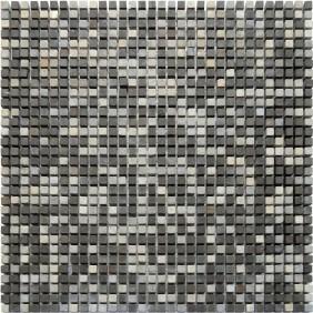Naturstein Micro Mosaik  8 mm Braun Mix