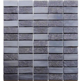 Naturstein Mosaik 4 mm Vulcan
