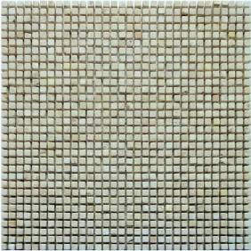 Naturstein Micro Mosaik  8 mm Beige