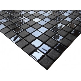 Naturstein Mosaik 4 mm Black II