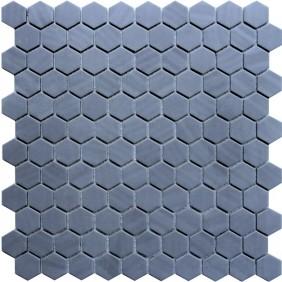 Keramik Mosaik 4 mm Uni Dark Grey