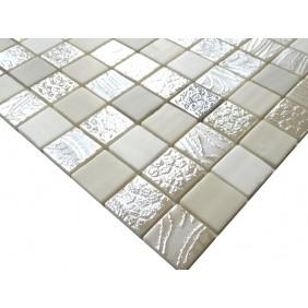 Keramik Mosaik 4 mm Mix IV Cream