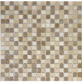 Naturstein Mosaik 8 mm Beige  15