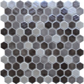 Keramik Mosaik 4 mm Grey Blend