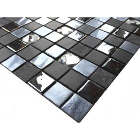 Materialmix Mosaik 4 mm Black Cristal