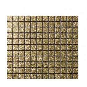 Keramik Mosaik 4 mm Gold Bubbles