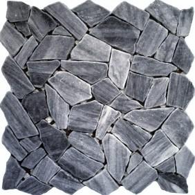 Naturstein Bruchmosaik 8 mm Grau