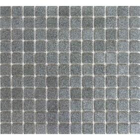 Keramik Mosaik 4mm Grau Dotts 2,5x2,5cm Antislip Rutschfest
