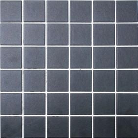 Keramik Mosaik 4mm Anthrazit 4,8x4,8cm  Antislip Rutschfest R10C