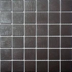 Keramik Mosaik Braun 4,8x4,8cm Antislip Rutschfest R10C