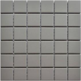 Feinsteinzeug Mosaik 5 mm Light Grey  Antislip