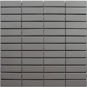 Feinsteinzeug Mosaik 5 mm Grey Brick Antislip