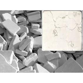 Antik Marmor Bruchmosaik 5-8 cm Beige  lose im Sack 1cm