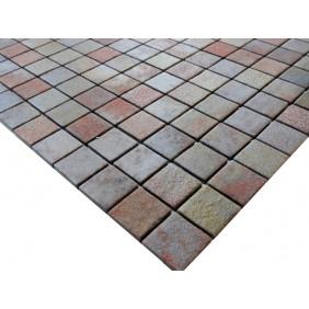 Naturstein Mosaik 4 mm Slate Multicolor Antislip