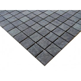 Naturstein Mosaik 4 mm Basalt Black