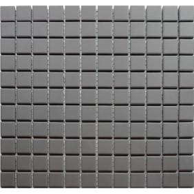 Feinsteinzeug Mosaik 5 mm Dark Grey 23 Antislip