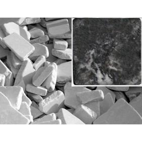 Antik Marmor Bruchmosaik 5-8 cm Schwarz  lose im Sack 1cm