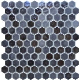 Keramik Mosaik 4 mm Black Blend