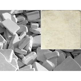 Antik Marmor Bruchmosaik 5-8 cm Botticino lose im Sack 1cm