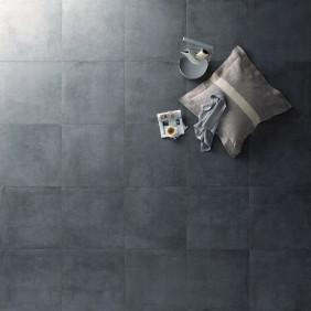 Steuler Bodenfliese Beton grafit