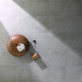 Steuler Bodenfliese Beton zement